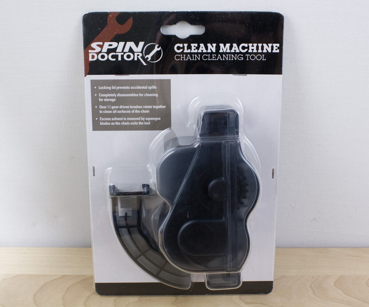 Spin Doctor Clean Machine Bicycle Chain Cleaning Tool 40-148