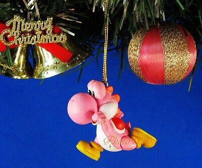 coration Tree Party Home SUPER MARIO BROS Pink Yoshi *N219 (Mario Bros Party Dekorationen)