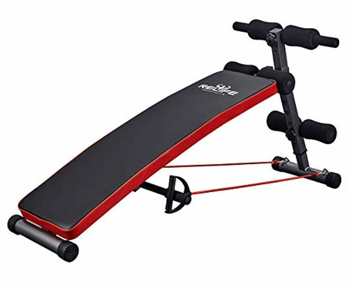 Gym At Home Exercise Equipment BENCH Arm Chest Abs Workout F