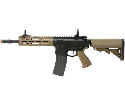 G&G Combat Machine CM16 Raider 2.0 M4 M-LOK AEG Rifle Airsoft Gun Tan for sale  Duarte