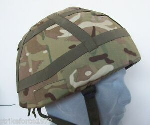NEW - MoD Issue MTP Multicam Camo Cover for Army Mk6 / Mk7 Helmet - Size LARGE