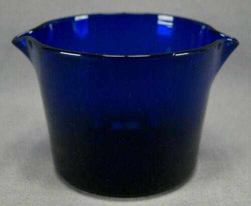 Early 19th Century Possibly British Cobalt Hand Blown Flint Glass Wine Rinser