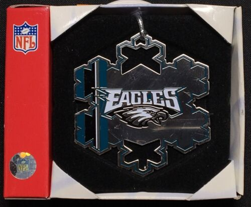Philadelphia Eagles Christmas Snowflake Christmas Ornament