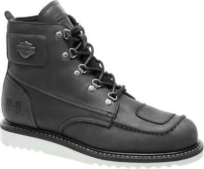 Harley-Davidson Men's Hagerman Black or Brown Motorcycle Boots D93469 D93470 Brown Harley Davidson Motorcycle Boots