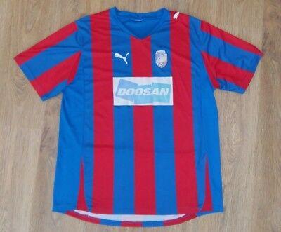 Viktoria Plzen Czech 2011 - 2012 rare home shirt size XL image