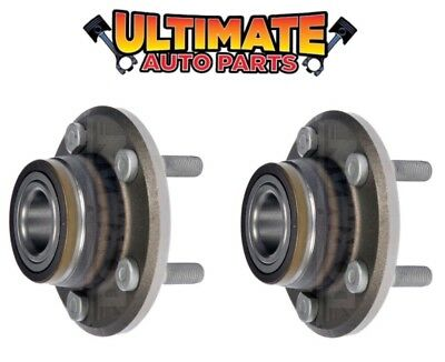 Front Wheel Bearing Hubs Pair for 06-14 Dodge Charger (2 Wheel Rear Wheel Drive)