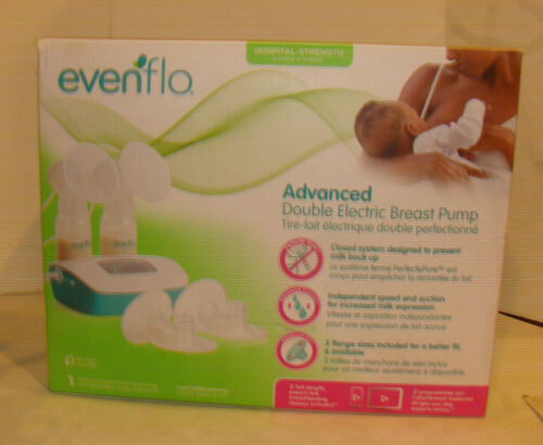 Evenflo Advanced Double Electric Breast Pump Closed System OPEN BOX READ
