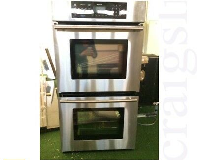 Jenn Air 27 inch Stainless Double Wall Oven Door from Model JJW9427dds11