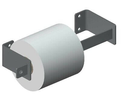 Steel Locking Toilet Paper Holder dual roll 2 rolls bathroom tissue dispenser