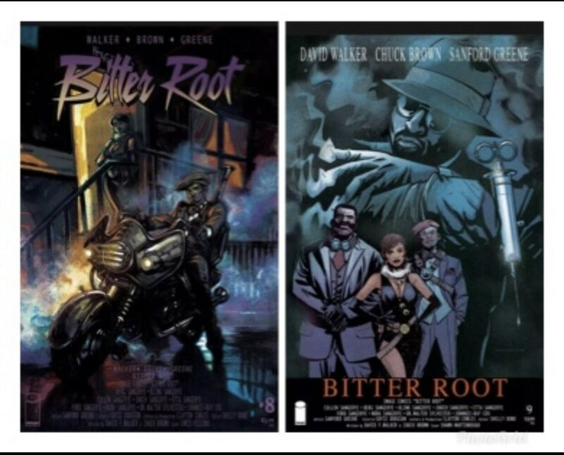 BITTER ROOT #8 & 9 PURPLE RAIN & NEW JACK CITY COMIC VG/VF GRADE OPTION 📽🎥🎞