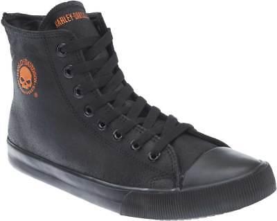 Harley-Davidson Men's Baxter Black/Orange 4.5