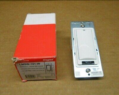 1 Nib Legrand Lmsw-101-w Lmsw101w Dlm Switch 1-button W Infrared White
