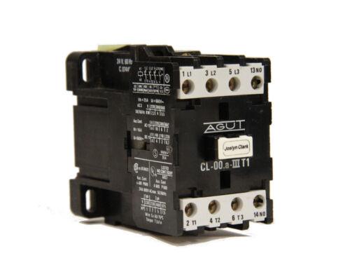 Joslyn Clark AGUT CL-00.a-IIIT1 Contactor 24V 60Hz Coil C.07449