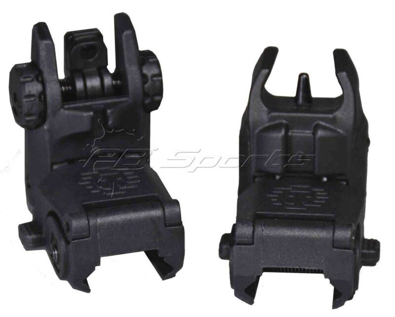 Tippmann Arms Picatinny rail Flip Up Sights Optics Airsoft Real Steel Style NEW!