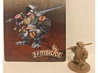 Zombicide Black Plague Gregoire w// card CMoN Kickstarter Exclusive