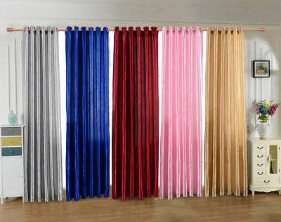 Blackout Room Darkening Curtains Window Panel Drapes Door Curtain for Bedroom](Curtains For Door)