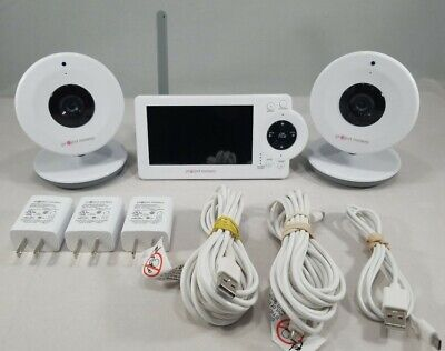 "Project Nursery 4.3"" LCD Baby Monitor System w/Two Digital Zoom Cameras"