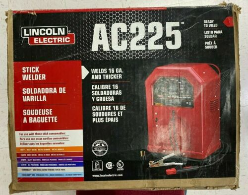 Lincoln Electric AC-225 Arc WELDER STICK WELD K1170 AC225 230V Brand New