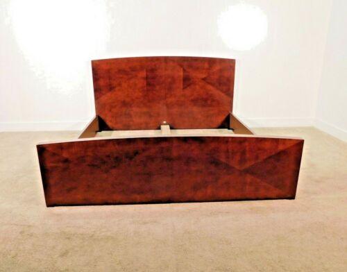 BAKER Furniture Company ARCHETYPE Kingsize Standard Presidio Finish Sleigh Bed