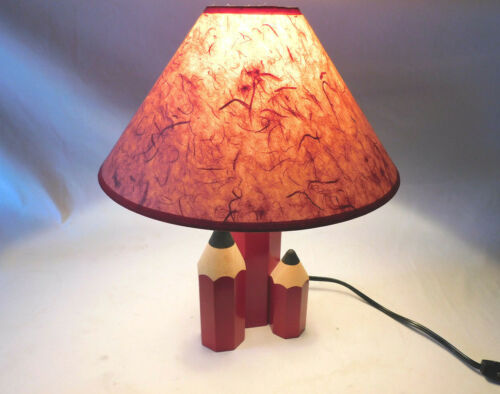 Ultra Rare Red Pencil Lamp By Tarogo A Division of Nippon - Japan - ca. 1980