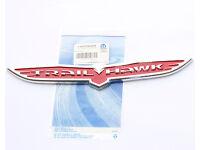 """2x OEM 8.5/"""" Big Blackhawk Emblem Black hawk Badge Jeep SRT Grand Cherokee Wing F"""