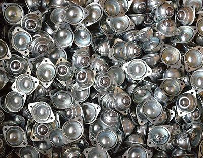 10pcs Dia 58 Ball Metal Transfer Bearing Unit Conveyor Roller 100 New