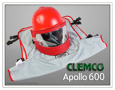 Clemco Apollo 600 Respirator Helmet With Dlx Suspension