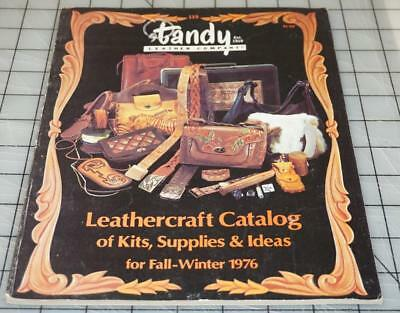 Vintage 70's TANDY LEATHER Company Leathercraft Ideas Supplies Catalog No. 115 (Catalog Party Ideas)