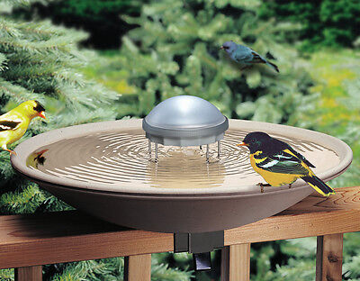 Allied Precision Bird Bath Solar Water Wiggler Water Agitator for Birdbaths 8WW
