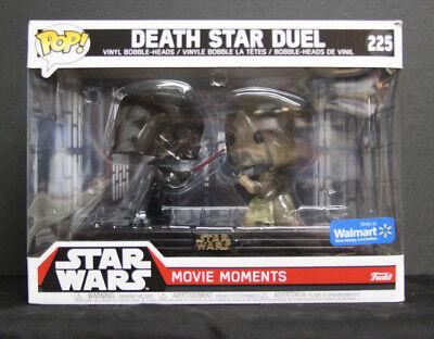 NIB Funko POP! Star Wars Movie Moments - DEATH STAR DUEL #225 - Exclusive