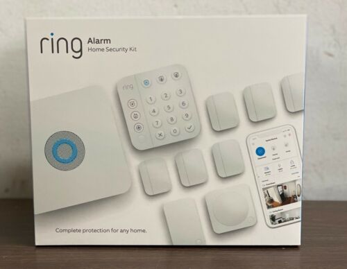 Ring Alarm Home Security 10 Pieces Kit 2nd Gen For USA & Canada ONLY