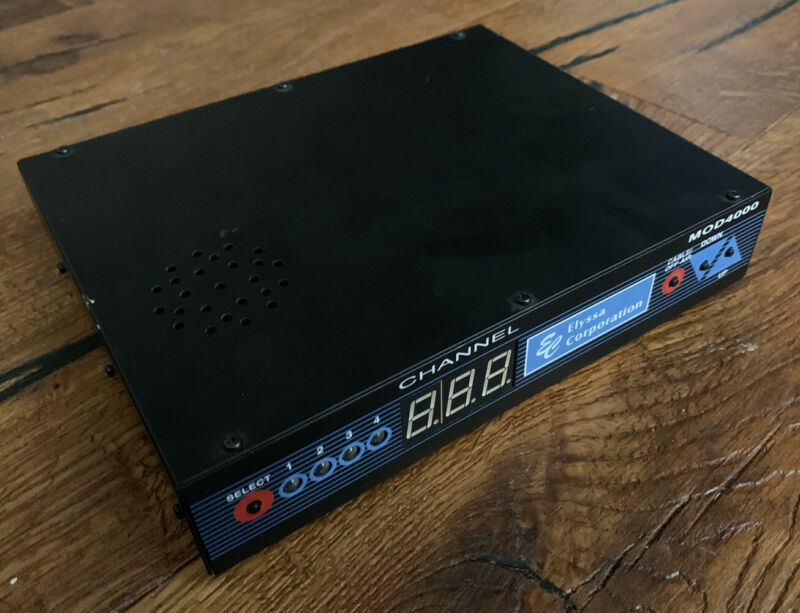 ZyCast/Elyssa Corp MOD4000 - Four Channel Stereo Video Modulator - RARE