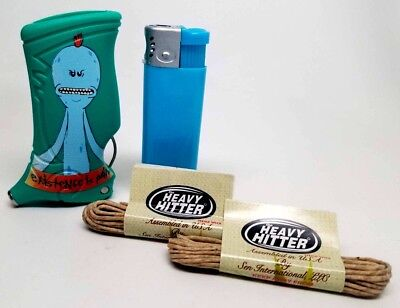 Rick & Morty Toker Poker Lighter Case green blue existence is pain collection