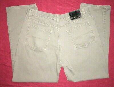 L.A.Best jeans Classic Tapered Leg Grey Jeans Mens 34x28 100%