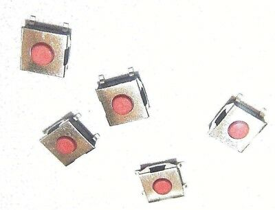 5x 6x6x2.5mm Waterproof Tactile Push Button Switch 4-pin Smd