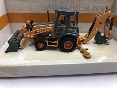 Ertl Tomy Case Construction 580 Super N WT Loader Backhoe 1:50 Scale Metal Model