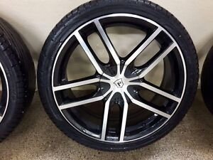 For sale 4 rims with tires 245 / 35 / 20 SPORT RACE