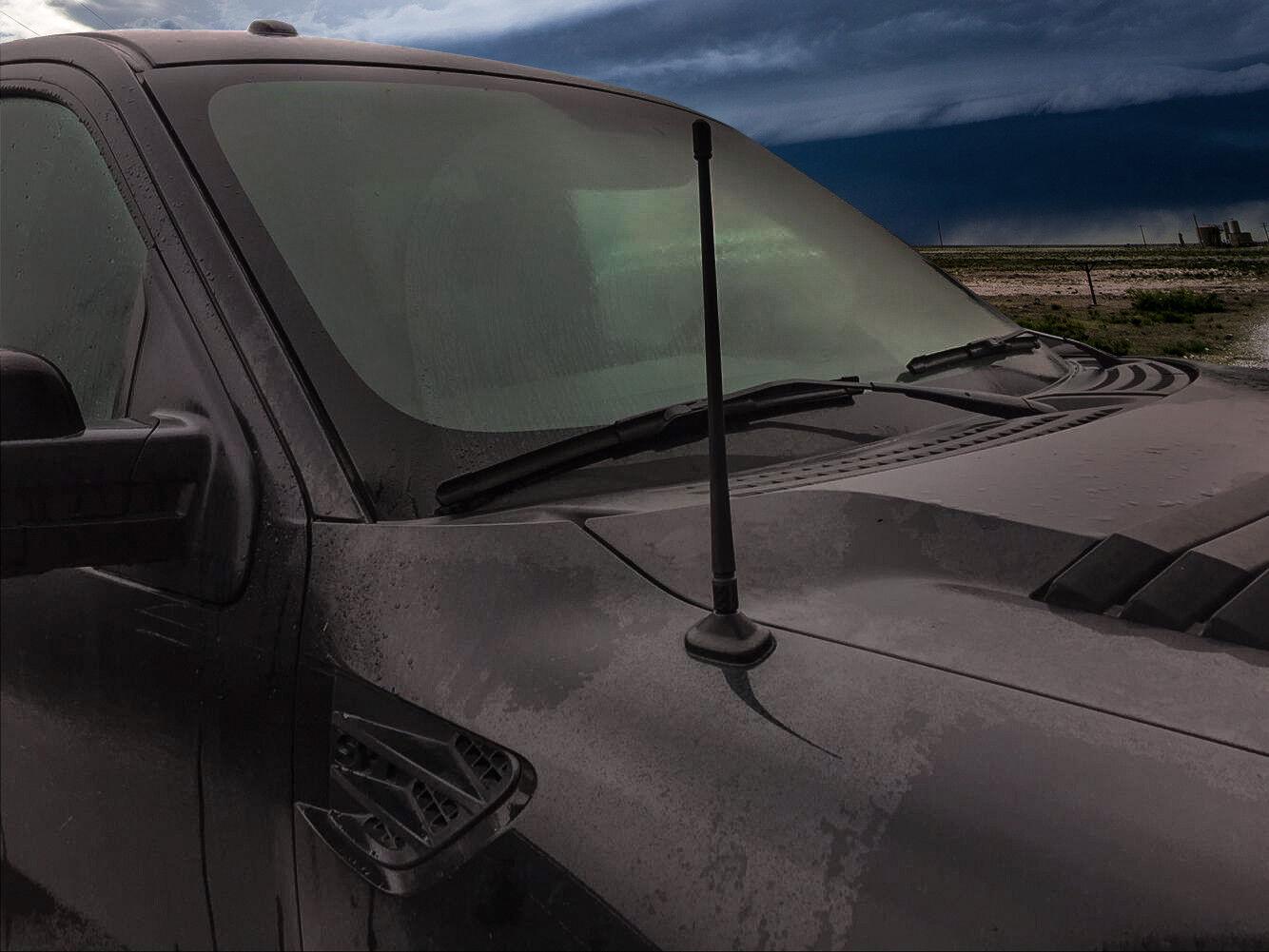 "как выглядит Rydonair 13"" Car Radio Antenna Mast Compatible with Ford F150 Raptor 2009-2021 фото"