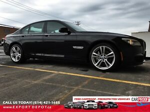 Bmw 750i xdrive 2011 impeccable condition M package