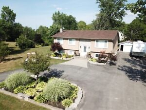 Fully Renovated Raised Bungalow And Detached Garage on 1.2 acres