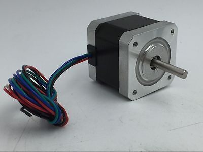 Nema17 42byg Stepper Motor 2ph 40oz.in L34mm Shaft Fr Reprap Makerbot 3d Prtiner