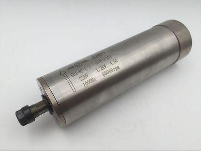 1.2kw Er11 Spindle Motor 60000rpm High Speed Water-cooling D62mm Mount Bracket