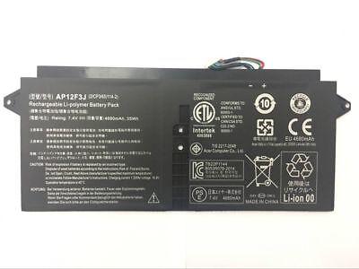 4Cell Genuine Battery for Acer Aspire S7-391 Ultrabook Series AP12F3J 7.4V 35WH