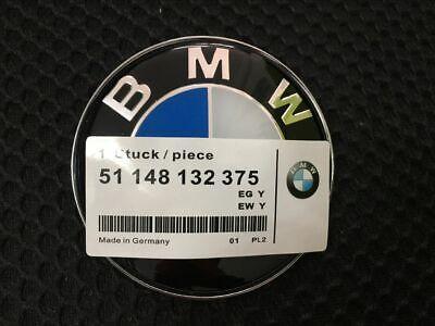 BONNET BOOT BADGE 82MM fits E46 E90 E91 E92 E60 E81 X3 X5 1 3 4 5 M Series