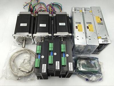 Motion Control 3axis Nema34 Stepper Motor L114mm Xyz Axis Cnc Router Printer Kit