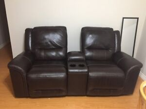 Leather Double Recliner