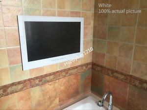 Brand New 15.6u201d Waterproof TV Bathroom TV Mirror TV With Free Shipping