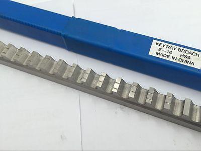 16mm E Type Broach Cutter Keyway Broaching Involute Spline Cutting Machine Cnc