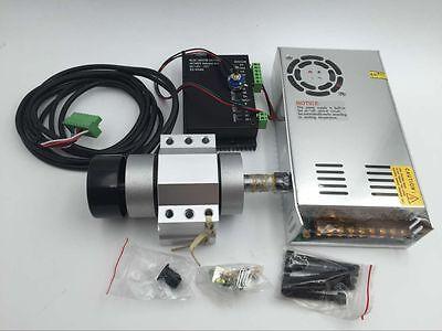 400w Er11 Spindle Motor Dc Brushlesspower Supplymount Bracket Cnc Router Mill