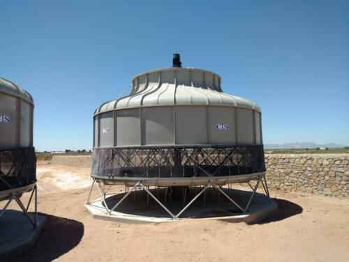 Cooling Tower Model T-3250  1250 Nominal Tons based on design of 95/85/75@ 3,761